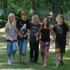 Ebba, Albert, Otto, Ellen & Joel